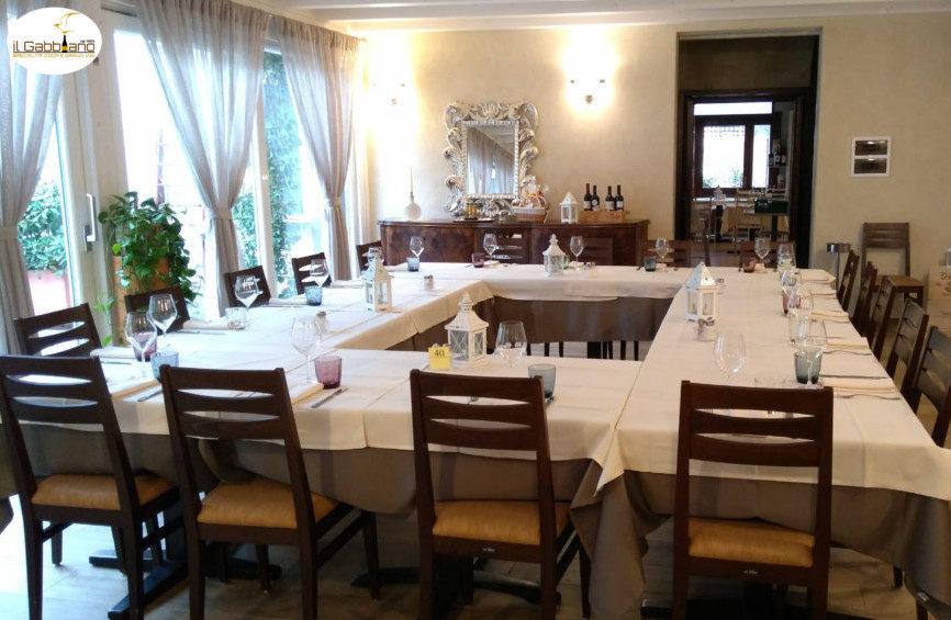la sala del ristorante fontana